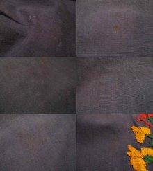 他の写真1: ブルー×レッド×オレンジサンアントニーノ刺繍長袖ロングドレス