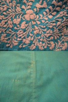 他の写真3: サックス×ホワイトサンアントニーノ刺繍メキシカン半袖ドレス