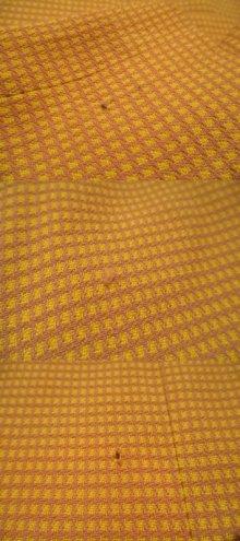 他の写真3: 50〜60年代イエロー×ライトパープルハウンドトゥース柄スカート