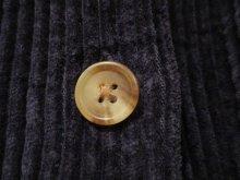 """他の写真2: """"L.L,Bean""""ネイビー胸ポケット付き長袖コーデュロイシャツ"""
