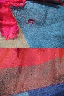 """他の写真3: """"paula sweet""""ピンク×カラフルブロックチェックポケット付き長袖フリンジジャケット"""