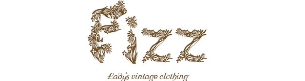 Fizz-select Lady's vintage clothing-